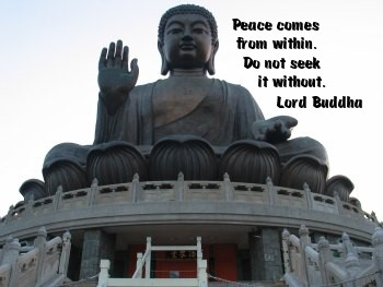 Peace comes from within. Do not seek it without. - Lord Buddha