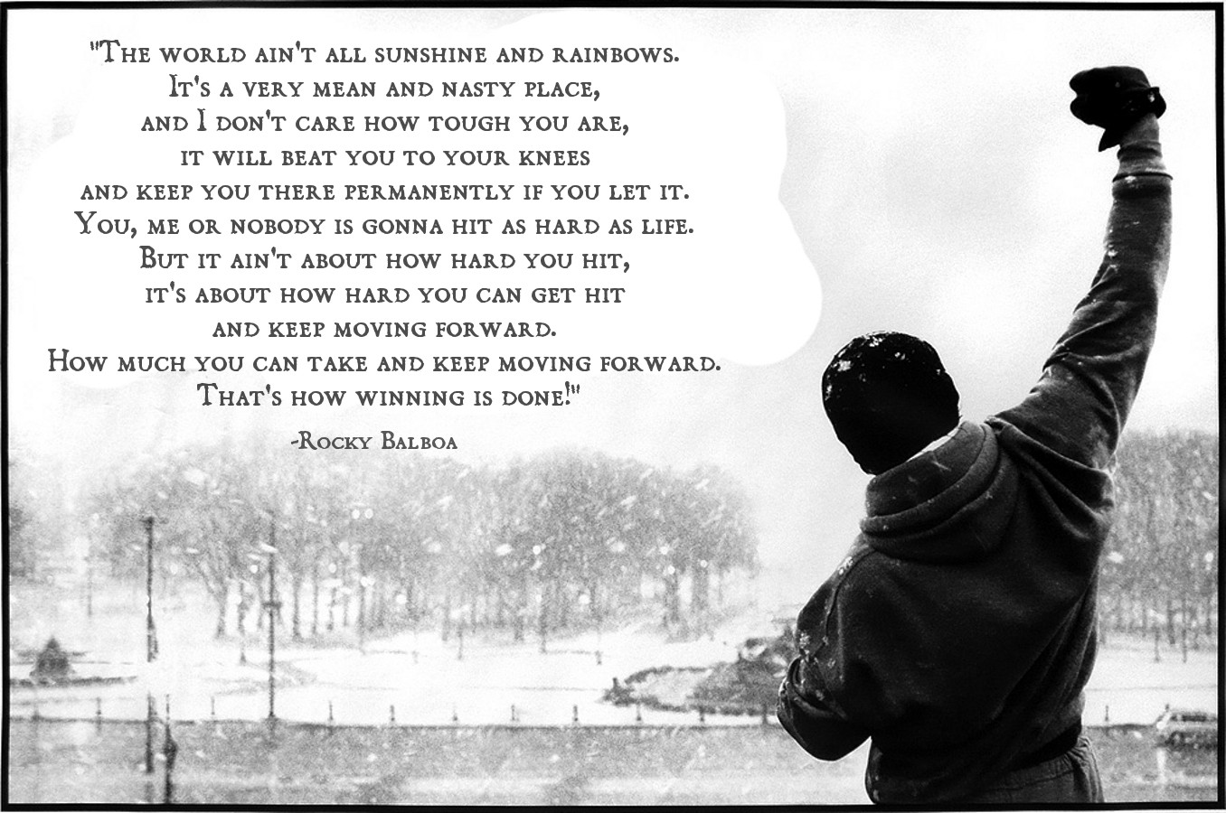 Rocky Balboa – The World Ain't All Sunshine and Rainbows ...