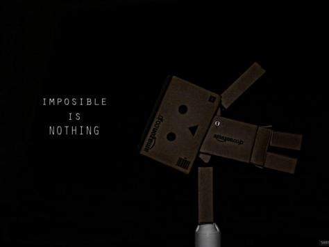Impossible is nothing - Danbo