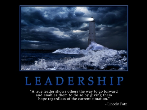 A true leader shows others the way to go forward and enables them to do so by giving them hope regardless of the current situation. – Lincoln Patz