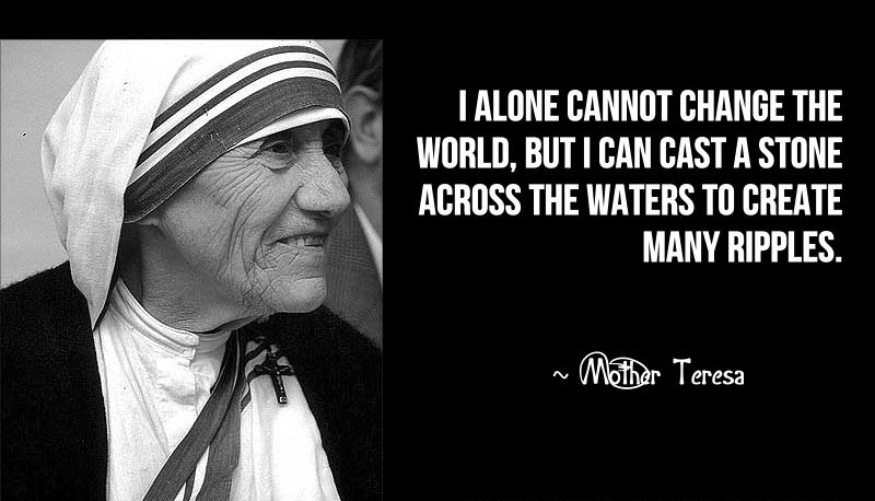 Mother Teresa Motivational Quotes | Motivation Mentalist
