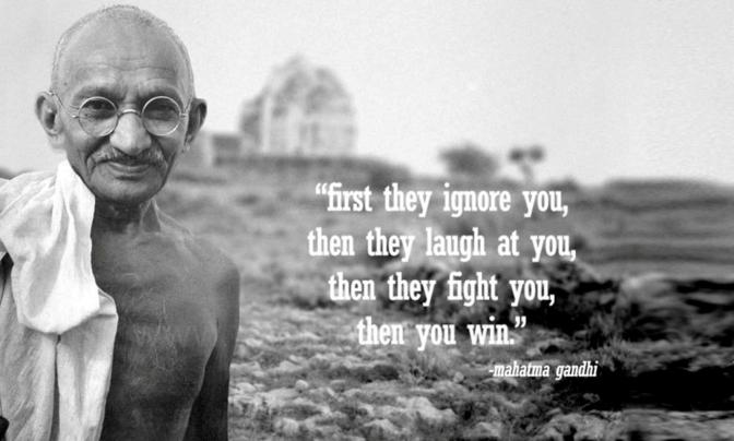 Mahatma Gandhi – Inspirational Quotes, Film, and Speech