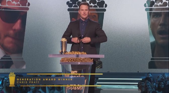 Nine Rules from Chris Pratt: Generation Award Winner 2018