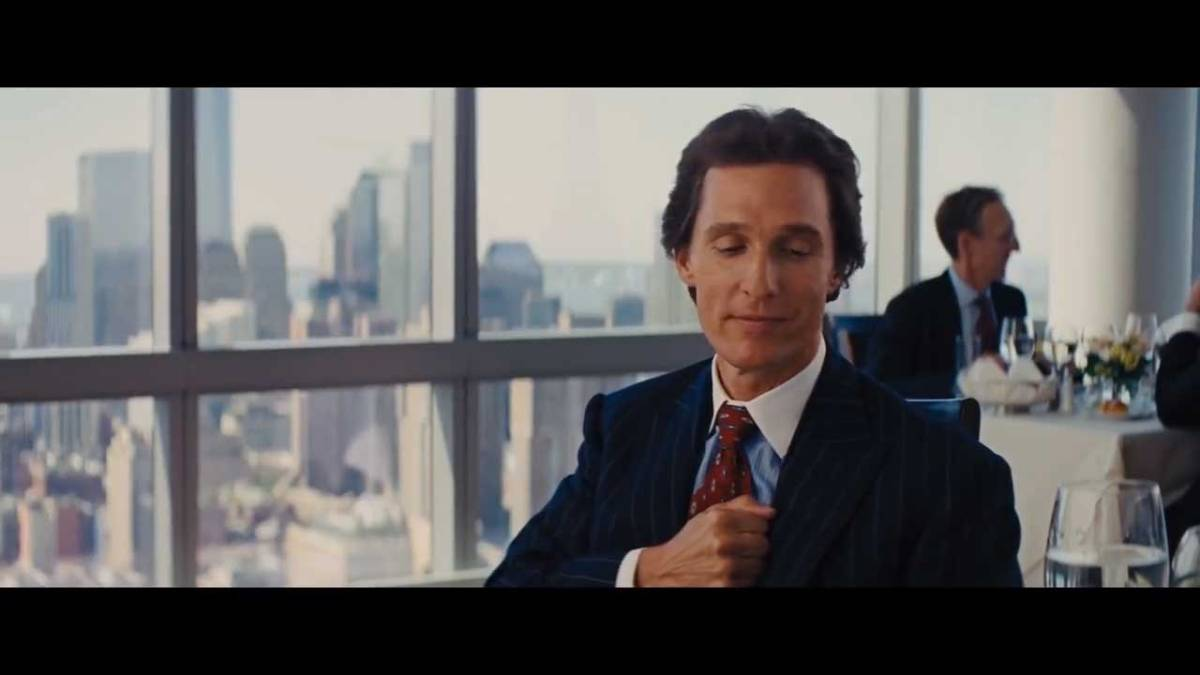 The Wolf Of Wall Street - Matthew McConaughey Money Chant Scene