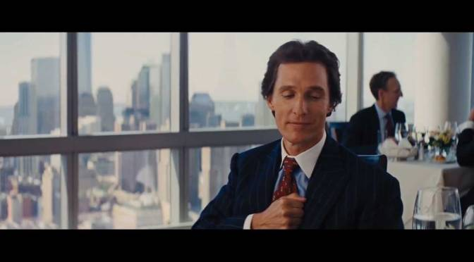 The Wolf Of Wall Street – Matthew McConaughey Money Chant Scene